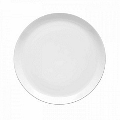 Barber and Osgerby by Royal Doulton - 'Olio' white dinner plate 27cm