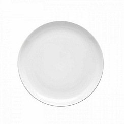 Barber and Osgerby by Royal Doulton - 'Olio' white salad plate 22cm