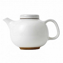 Barber and Osgerby by Royal Doulton - 'Olio' white tea pot