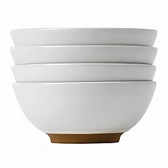 Barber and Osgerby by Royal Doulton - 'Olio' white set of 4 dip dishes 8cm