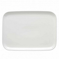 Barber and Osgerby by Royal Doulton - 'Olio' white large serving platter 38cm