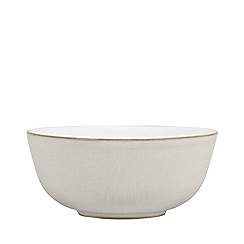 Denby - Cream glazed 'Natural Canvas' dessert bowl
