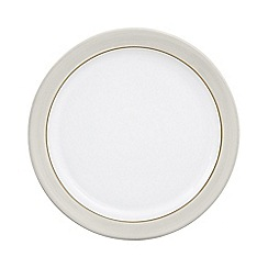Denby - Medium 'Natural Canvas' plate