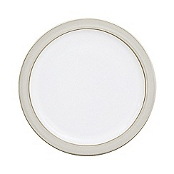Denby - Glazed 'Natural Canvas' tea plate