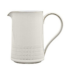 Denby - Medium 'Natural Canvas' textured jug