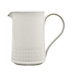 Denby - Medium 'Natural Canvas' textured jug