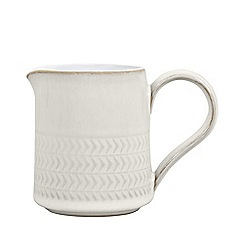 Denby - Small 'Natural Canvas' textured jug