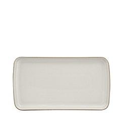 Denby - Small 'Natural Canvas' rectangular platter