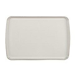 Denby - Large 'Natural Canvas' rectangular platter