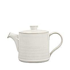 Denby - 'Natural Canvas' textured teapot
