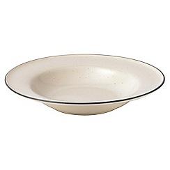 Gordon Ramsay By Royal Doulton - Cream 'Union Street Cafe' pasta bowl