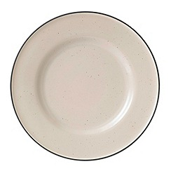 Gordon Ramsay By Royal Doulton - Union Street Cafe Cream dinner plate