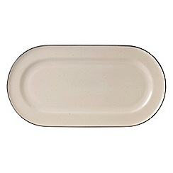 Gordon Ramsay By Royal Doulton - Cream 'Union Street Café' serving platter