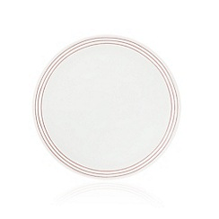 Ben de Lisi Home - White 'Madison' striped side plate
