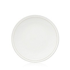J by Jasper Conran - White 'Aldborough' stone dinner plate