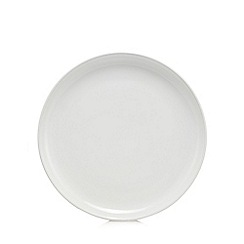 Home Collection - White stone dinner plate