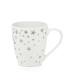 Star by Julien Macdonald - Porcelain star print mug