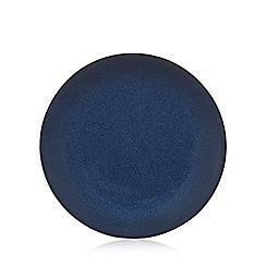 RJR.John Rocha - Blue 'Pico' dinner plate