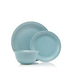Home Collection - Set of 12 blue dinner set