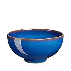 Denby - Glazed 'Imperial Blue' rice bowl