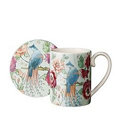 Denby - Monsoon Kyoto mug and coaster set
