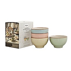 Denby - Pack of 4 'Always Entertaining Deli' small bowls