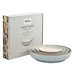 Denby - 'Heritage Pavilion' 4 piece nesting bowl set