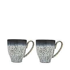 Denby - Pack of 2 'Halo' mugs