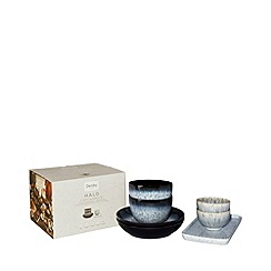 Denby - 'Halo' 7 piece takeaway serving bowl set