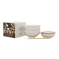 Denby - 'Natural Canvas' 7 piece Asian set