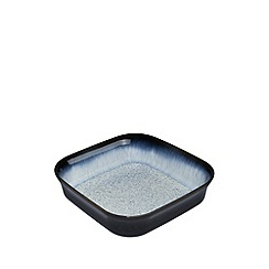 Denby - Stoneware glazed 'Halo' square oven dish