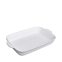 Denby - 'Natural Canvas' large rectangular oven dish