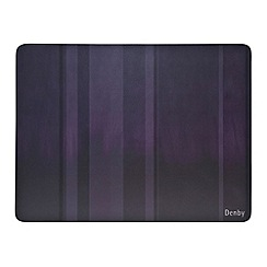 Denby - Set of 6 purple placemats