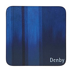 Denby - Pack of 6 blue coasters
