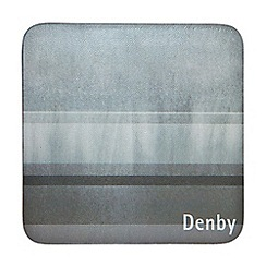 Denby - Pack of 6 grey coasters