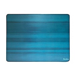 Denby - Pack of 6 turquoise placemats