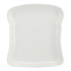 Ben de Lisi Home - White toast plate