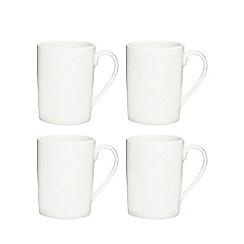 Ben de Lisi Home - White latte mug