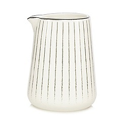 Home Collection - Grey and white 'Stockholm' jug