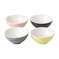 Royal Doulton - Hemingway set of 4 mixed cereal bowls