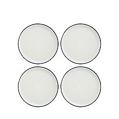 Home Collection Basics - Set of four navy side plates