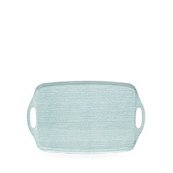 Home Collection Basics - Light blue printed tray