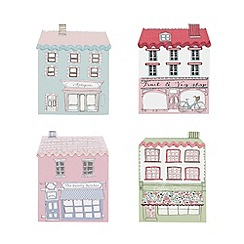 At home with Ashley Thomas - Set of four house coasters
