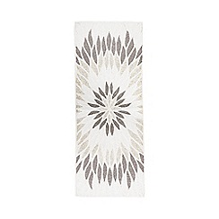Star by Julien Macdonald - Multi-coloured flame beaded table runner