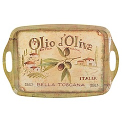 Creative Tops - Glazed 'Olio D'Oliva' tray