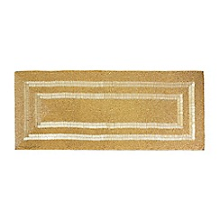 Star by Julien Macdonald - Gold textured table runner