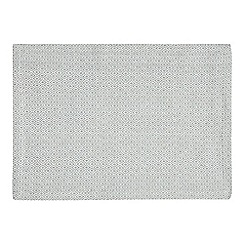 J by Jasper Conran - Pack of 2 grey geometric print placemats