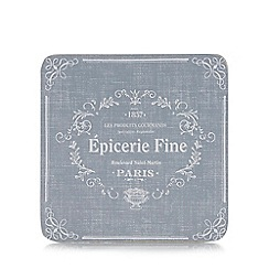 Home Collection - Pack of 6 delicatessen print coasters