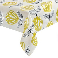 Home Collection - Multi-coloured floral print tablecloth