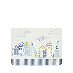 Home Collection - Off-white set of six beach hut placemats